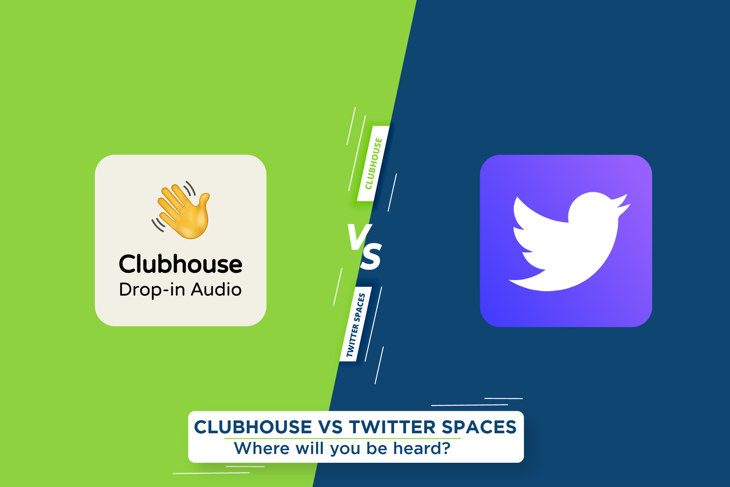 Clubhouse VS. Twitter Spaces