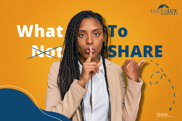 What Not to Share
